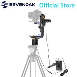 Sevenoak SK-ECH04 Electronic Motorized Pan & Tilt Gimbal Head Kit System with 20ft Remote Control for Canon Nikon DSLR Camera