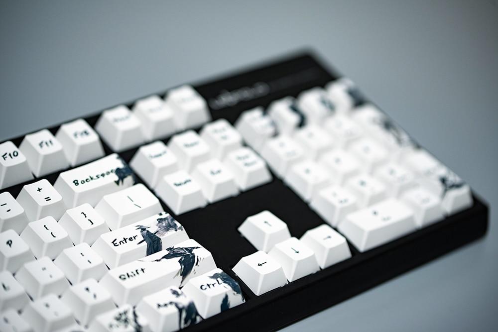 Cinco lados dye subbed pbt keycap 108