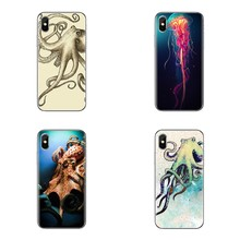 Organisme Laut Gurita Godlike untuk IPod Touch Apple iPhone 11 Pro 4 4S 5 5S SE 5C 6 6S 7 8 X XR X PLUS Max Telepon Shell Cover(China)