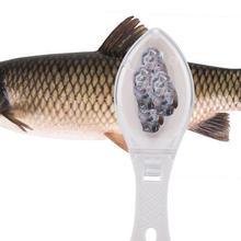Щетка для рыбьей кожи быстро удаляет рыбные чешуи пластиковый скребок для очистки на открытом воздухе рыбий Нож Аксессуары Для выездной рыбалки