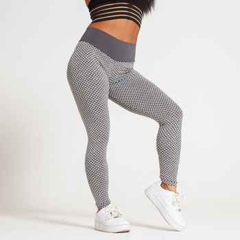 High Waist Leggings Women Fitness Push Up Workout Womens Sport Legging Anti Cellulite Black Grey Sexy Leggins Butt Lifting 2020 image