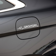 1 шт. автомобиля-Стайлинг Светоотражающая наклейка на крышку топливного бака и наклейка Аксессуары для NISSAN Qashqai Murano аксессуары