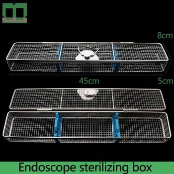 Endoscope sterilizing box high temperature sterilization of medical endoscope stainless steel surgical instruments