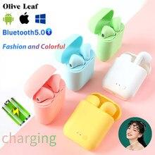 Mini-2 auriculares TWS inalámbricos por Bluetooth 5,0, Auriculares deportivos para videojuegos, auriculares de música para Iphone, Samsung, Huawei, Oppo, Xiaomi