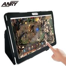 ANRY tablet 10.1 Inch Dual SIM Card Phablet Android 7.0 4G Phone Call 4 GB RAM 64GB ROM Wifi GPS Bluetooth touch Tablet 696 z01 bluetooth android 5 1 smart watch 512m ram 4g rom wifi sim camera gps