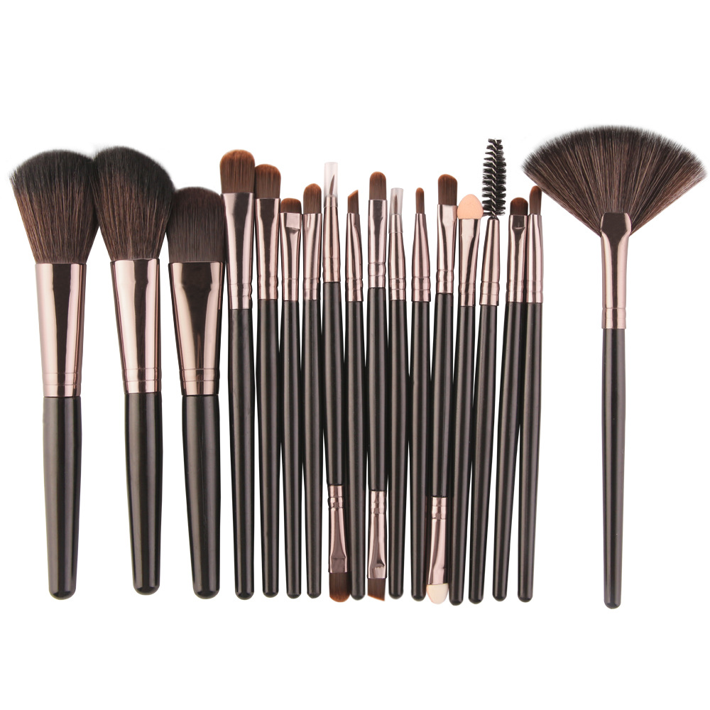 MAANGE 18PCS Make-Up Pinsel Set Für Lidschatten Foundation Pulver Eyeliner Multi-Farbe Optional Schönheit Werkzeuge Kosmetische Kit