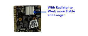 Image 5 - Sony Cámara de techo IP con cúpula de Metal radiador con detección de movimiento Sony IMX307 + 3516EV200, baja iluminación, 3MP, H.265, ONVIF, CMS, XMEYE, P2P