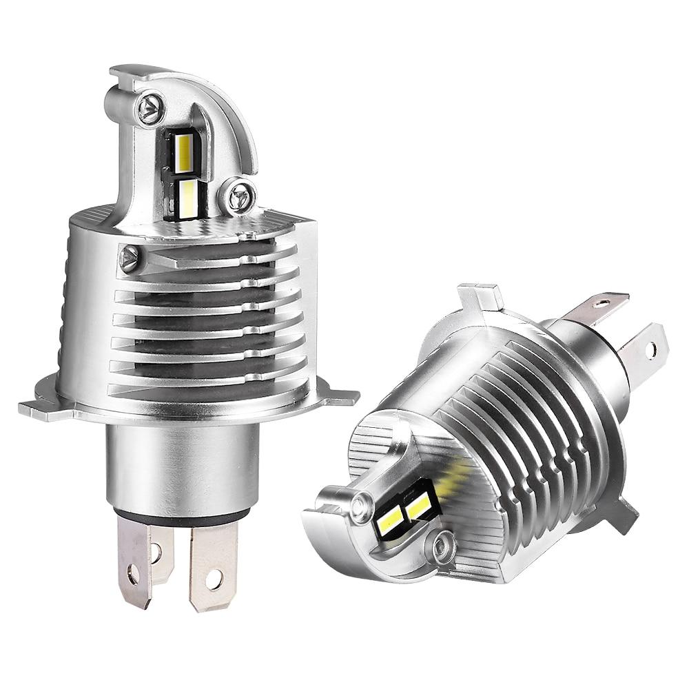 Led Car Headlight H4 led Hi/Lo beam H4 headlamp 1:1 design 60W led Car Headlight car lamp 12000LM White 6000k CSP Chips