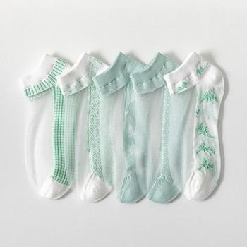 Women's Glass-Silk Transparent Socks