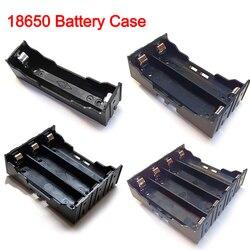 Новый DIY ABS 18650 Мощность банк чехол s 1X 2X 3X 4X 18650 Батарея Держатель Коробка Для Хранения Чехол для детей 1, 2, 3, 4, слот контейнер для батарей жестк...