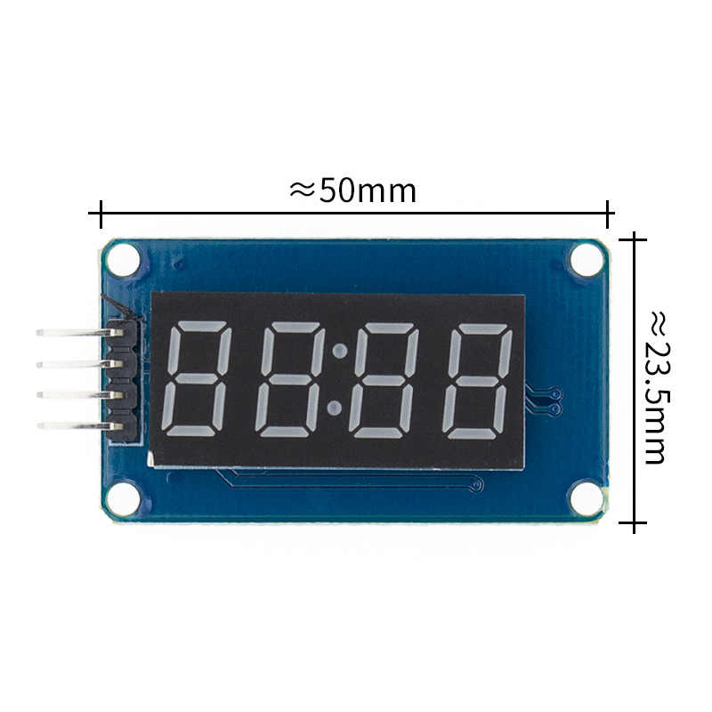Image 2 - New 100pcs 4 Bits TM1637 Red Digital Tube LED Display Module & Clock LED-in Integrated Circuits from Electronic Components & Supplies