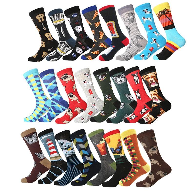 MYORED Cool Men's And Women's Couple Socks Comfortable Fun Party Birthday Gift Pop Socks