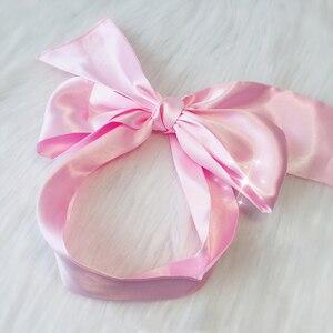 Image 4 - Soft Sleep Eyeshade Satin Ribbon Bondage On Eyes Sex Breathable Cover Eye Patch Belt Blindfold Sexy Exotic Lingerie Accessories