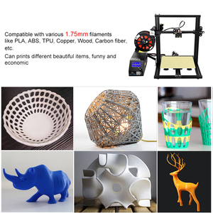 Image 5 - CR 10 DIY 3D Printer Self assemble Printing Mini High precision  Supports for Continuation Print of Power Failure