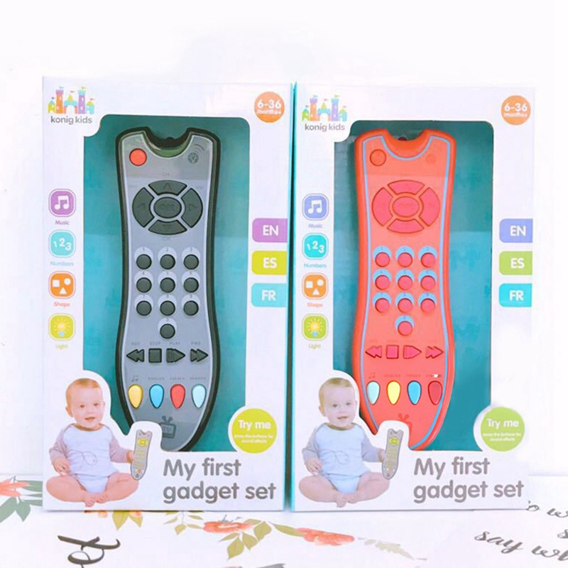 2020 New Baby Simulation TV Remote Control Mobile Phone Toy Kids Educational Nummers Remote Learning Machine For Baby Gifft