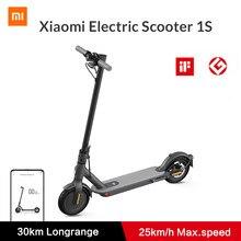 Xiaomi Mi trottinette électrique 1S Smart e trottinette planche à roulettes Mini Hoverboard pliable Patinete Mijia Electrico adulte 30km Endurance