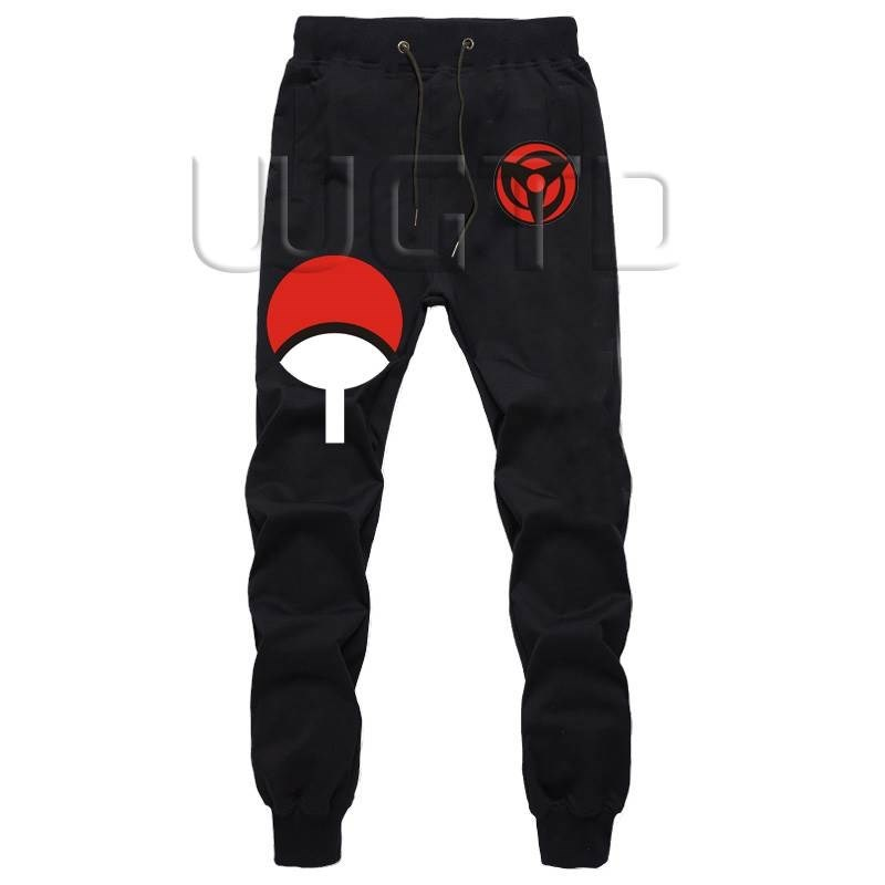 Naruto Uchiha Men Pants Joggers Fitness Trousers Hip Hop Harem Pants Autumn Winter Men Fitness Sweatpants Male Sportswear Pants