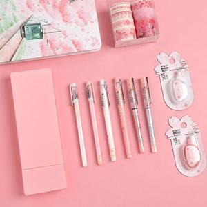 Image 4 - JIANWU 11pcs/set sakura series limited set cute Planner Diary  journal Stationery set Student gifts shcool supplies kawaii