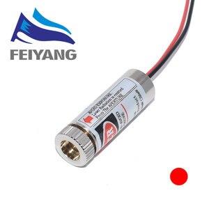 Image 4 - 10 Stuks 650nm 5Mw Rode Punt/Lijn/Cross Laser Module Hoofd Glas Lens Focusable Focus Verstelbare Laser diode Hoofd Industriële Klasse