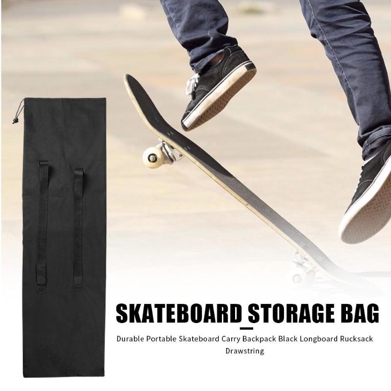 Durable Convenient Portable Skateboarding Skateboard Cover Outdoor Longboard Carrying Backpack Carry Bag