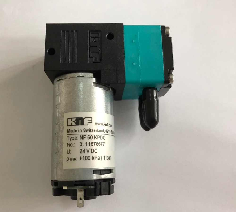 Dirui Vacuum Pump NF-60 NF60 NF 60 For Automatic Biochemical Analyzer Dirui CS-T240 14102450 24V 100kPa 1bar Original