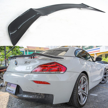 N//A Carbon Fiber Car Rear Spoiler For BMW 5 Series E60 M5 2004-2009 Standard Hatchback Spoiler Roof Tail Trunk Lip Windshield Wing
