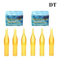 Nozzle Tattoo-Tips Disposable Plastic for Yellow 50pcs Assorted 11D 3D Classical 14d-Size