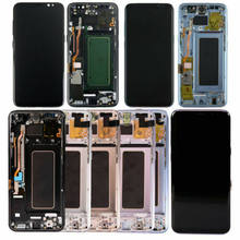 For Samsung Galaxy S8 G950 & S8 PLUS LCD Display + Touch Screen Digitizer+ Frame(China)