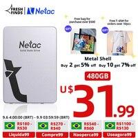Netac SSD 1tb 512gb 2.5 ''SATAIII SATA SSD 480gb 2tb HD SSD Festplatte Disk HDD Interne Solid State Drives für laptop PC
