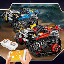 391pcs Creator Legoed Technic APP RC Remote Control Stunt Racer Building Blocks model bricks compatible 42095 toys(China)