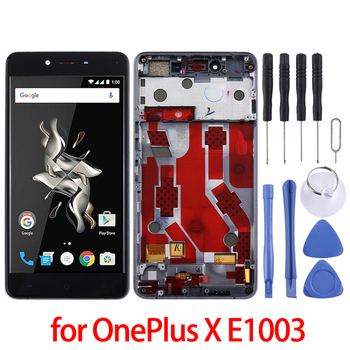 For OnePlus X E1003  LCD Screen and Digitizer Full Assembly with Frame for OnePlus X E1003