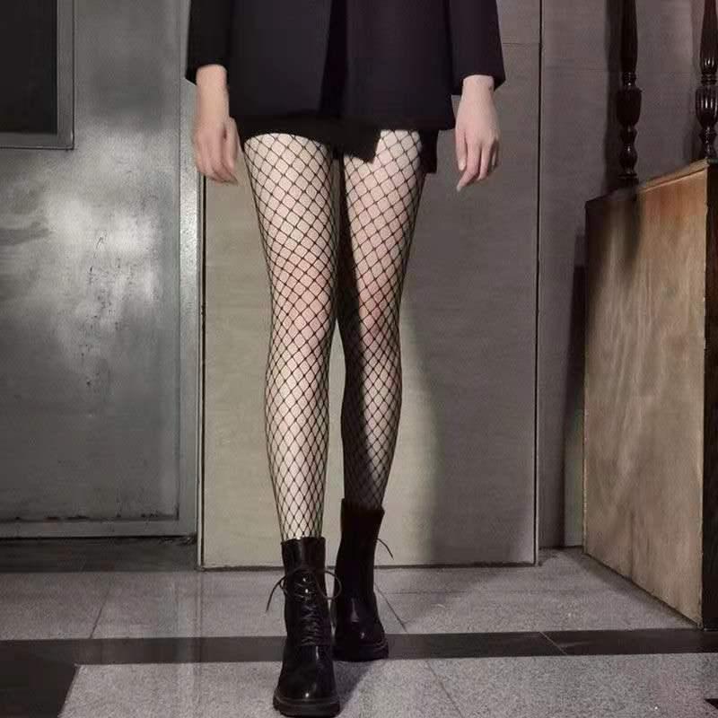 Fashion Sexy Fishnet Pantyhose Women Mesh Tight Hollow Out Women Slim Fishnet Stockings Club Party Hosiery Female Stockings