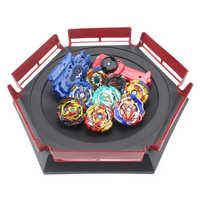 Nouveau Beyblade rafale ensemble lanceurs Beyblade jouets arène bayblade Toupie métal rafale Avec dieu Toupie Bey lame lames jouet