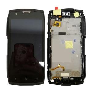 Image 3 - شاشة عرض LCD مقاس 5 بوصات بإطار لـ Blackview BV7000 BV 7000 Pro شاشة عرض تعمل باللمس مع محول رقمي للتجميع BV7000pro شاشة أندرويد 7.1