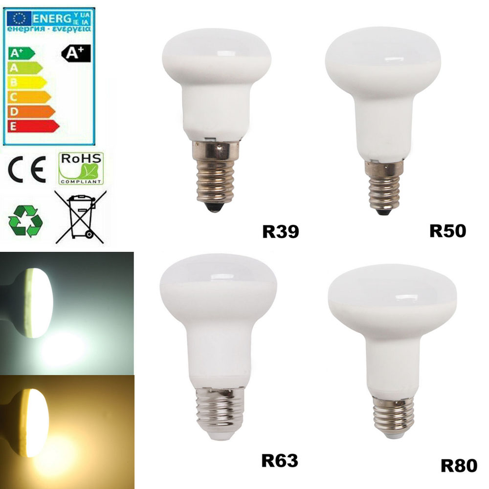 220V Led Bulb Dimmable R39 R50 R63 R80 E27 E14 Bombillas Lamp Ampoule Spotlight Light Lampada Energy Saving 3W 5W 1W 9W