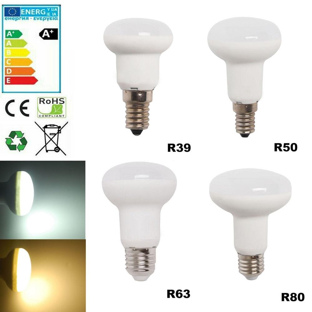 220V Led Bulb Dimmable R39 R50 R63 R80 E27 E14 Bombillas Lamp Ampoule Spotlight Light Lampada Energy Saving 3W 5W 1W 9W