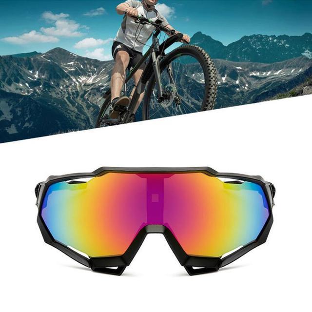 Prova e computador à prova de explosão profissional polarizado óculos de ciclismo óculos de bicicleta esportes ao ar livre óculos de sol uv 1
