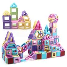 Magnetic Building Blocks 275PCS Set Magnetic Sheet Mini-Castle DIY Educational Toys Kids For Children'S Gifts