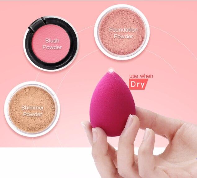 BeautyPaPa Black Beauty Makeup Applicator Super Soft Sponge Powder Blender Smooth Foundation Contour Blending Puff 2