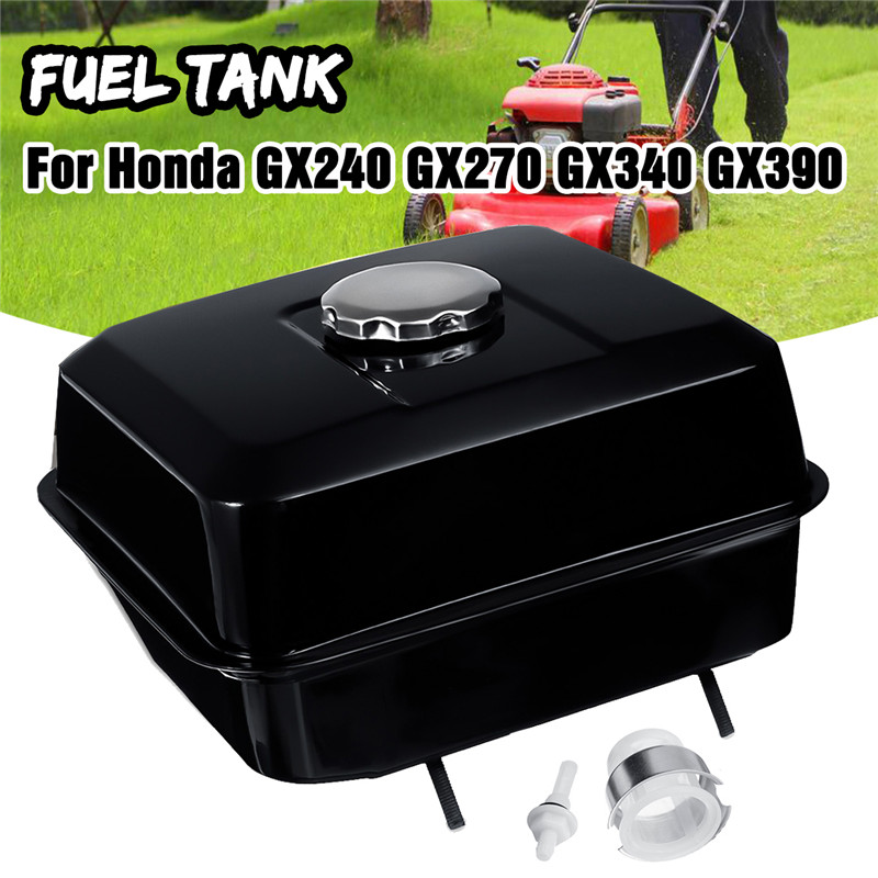 Honda Gas Black Cap Tank GX390 Petcock Filter Lawnmower For Gas Fuel Engine With GX340 Strainer GX240 Petrol GX270