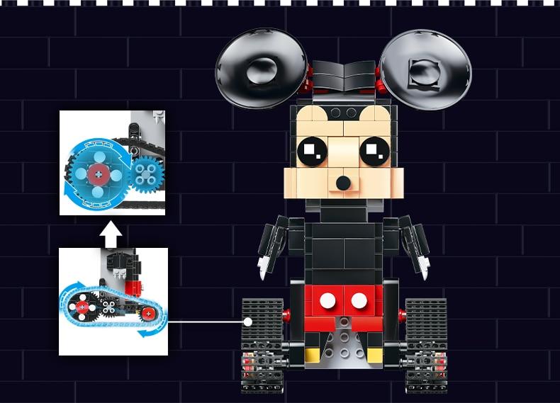 MOULD KING  Technic Crawler robot Walking Building Block 16