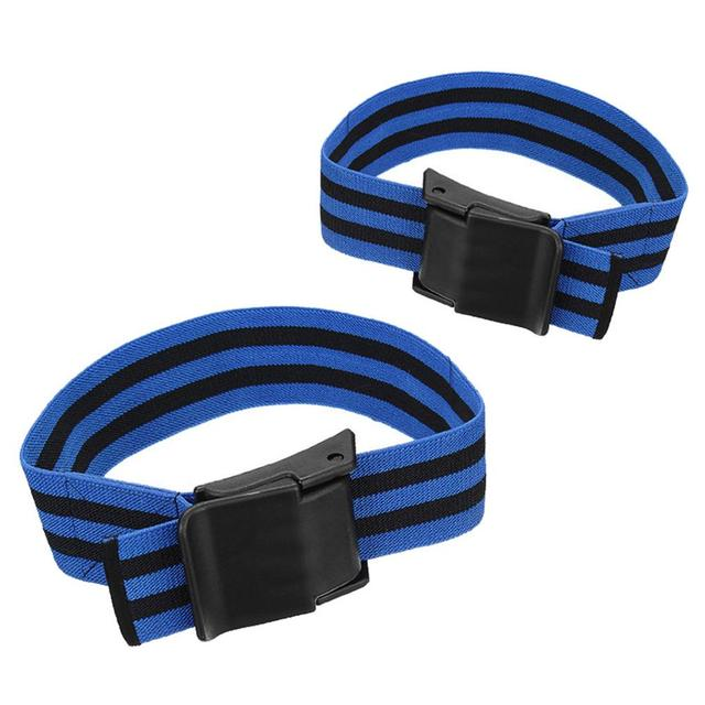 1 Pair BFR Training Fitness Gym Bands