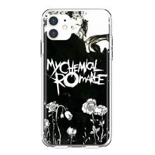 Silicone Shell Case Voor Bq Aquaris C U2 U V X2 X Lite Pro Plus E4.5 M4.5 X5 E5 4G M 2017 My Chemical Romance(China)