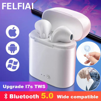 i7s Tws Wireless Headphones Bluetooth Earphone Stereo Earbud Headset With Charging Box Mic For All Bluetooth tablet Smartphone 1