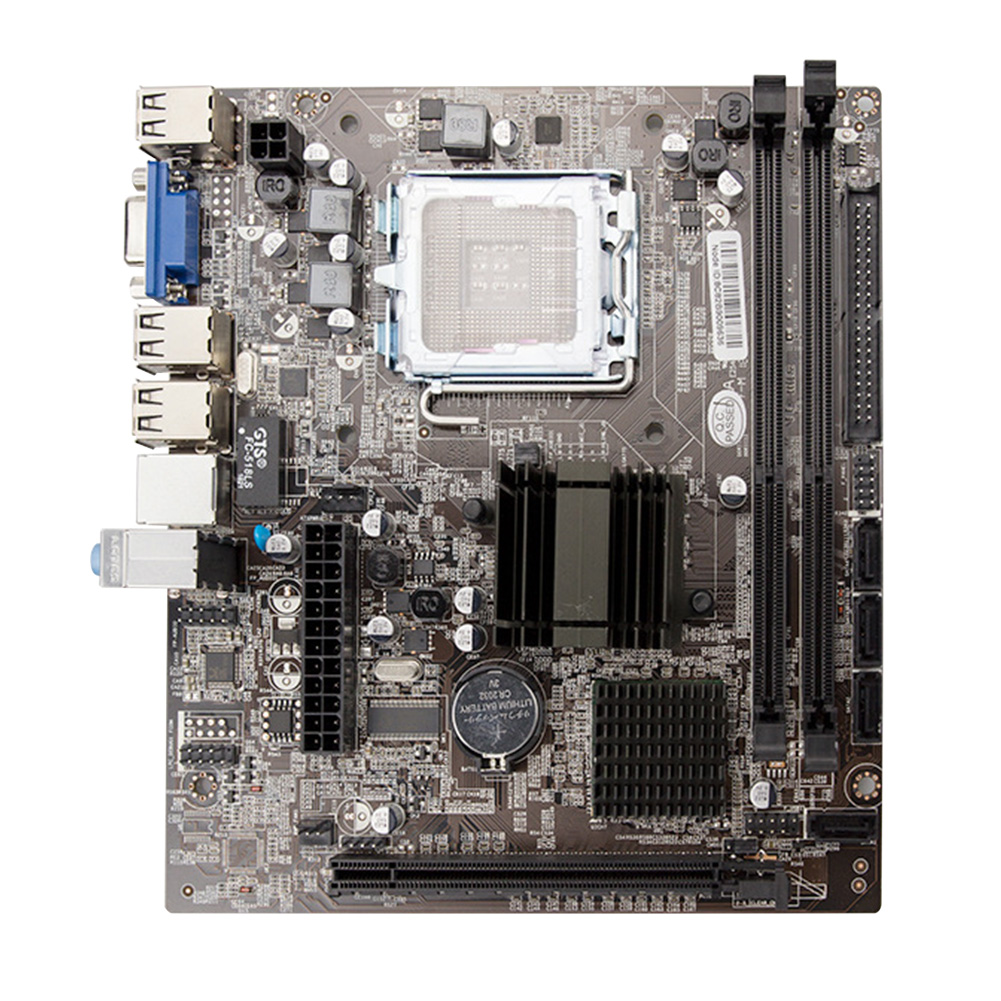 High Speed Desktop Computer Easy Install Stable Motherboard LGA771/775 PCI Express Accessories DDR3 Memory Socket USB2.0 Module image