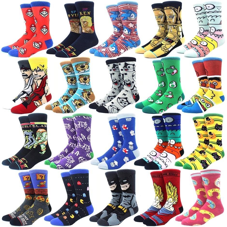 Guitar Arts Custom Socks Creative Socks for Men//Women Casual Cartoon Socks