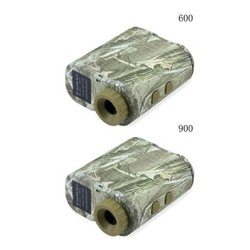 600/900m 6X Rangefinder Distance Meter Speed Tester Range Finder for Golf Hunt Newest
