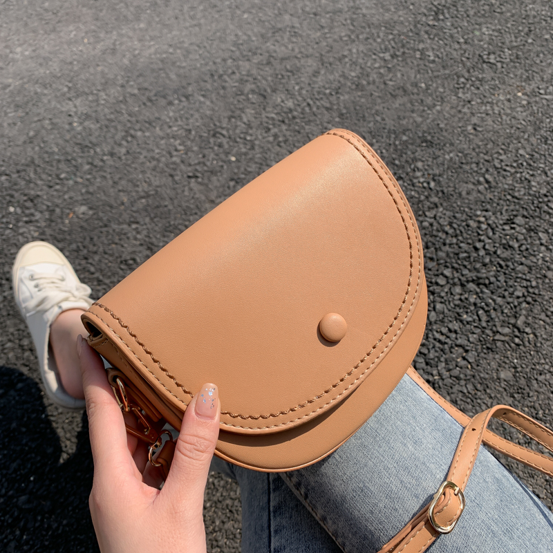 Solid Colors PU Leather Crossbody Bags For Women 2020 Fashion Small Shoulder Bag Female Handbags And Purses Sac A Main Femme