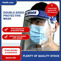 Protection Face Hat Helmet Anti Spittle Respirator Protective Shield Safety Masks Isolation work with Mouth Mask