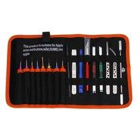 Kit Ferramenta de Reparo Do Telefone móvel Chave De Fenda Set Pinça Ferramentas Spudger Pry Para iPhone Apple MacBook Laptop Tablet PC Reparação